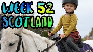 The BEST Adventures in Scotland with Kids!! Fairy Pools and Gleneagles!! /// WEEK 52 : Scotland