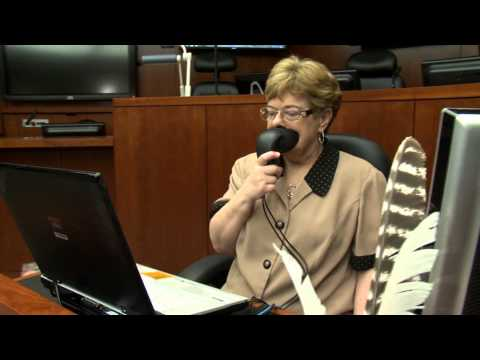 The McGlothlin Courtroom: Court Reporter Station (HD 1080p)