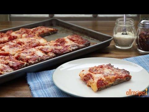 How to Make Pepperoni Meatza | Pizza Recipes | Allrecipes.com