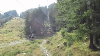 Gambar cover Alpe Burki Belvedere Ski Lift near Staffa and Macugnaga, Italy on the Tour do Monte Rosa
