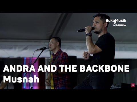 Andra and the Backbone - Musnah (with Lyrics) | BukaMusik