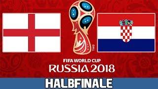 ENGLAND : KROATIEN | Halbfinale | FIFA WM 2018 Prognose