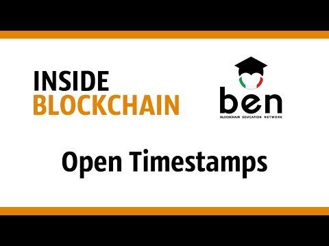Riccardo Casatta - Open Timestamps (Inside Blockchain, Roma 10/07/17)