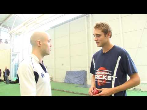 How to bowl with Stuart Broad - 1. The Grip