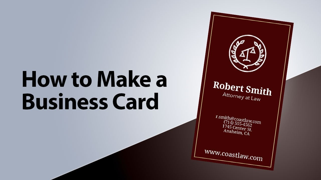How To Design Your Own Business Cards Diy Business Cards With