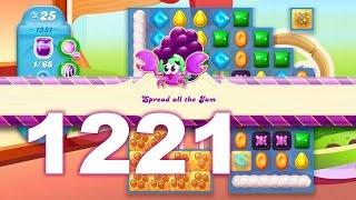 Candy Crush Soda Saga Level 1221 (No boosters)