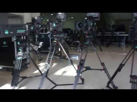 Broadcast Flightpack Pre-Production Setup/Check Dubai 2011