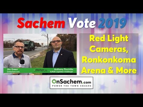 Election Vote Leader Piccirillo Discusses Red Light Cameras, Arena Proposal And More