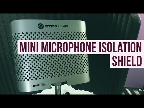 Sterling UMS Mini Microphone Acoustic Shield