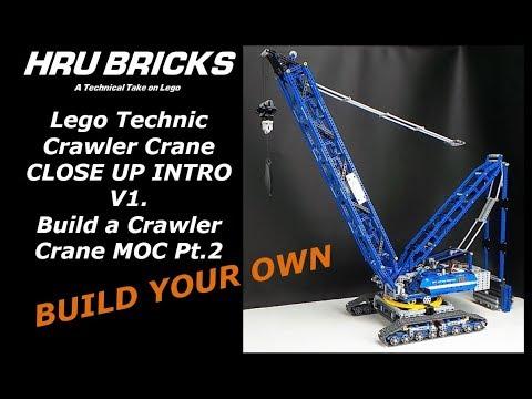 MOC Crawler Crane Introduction