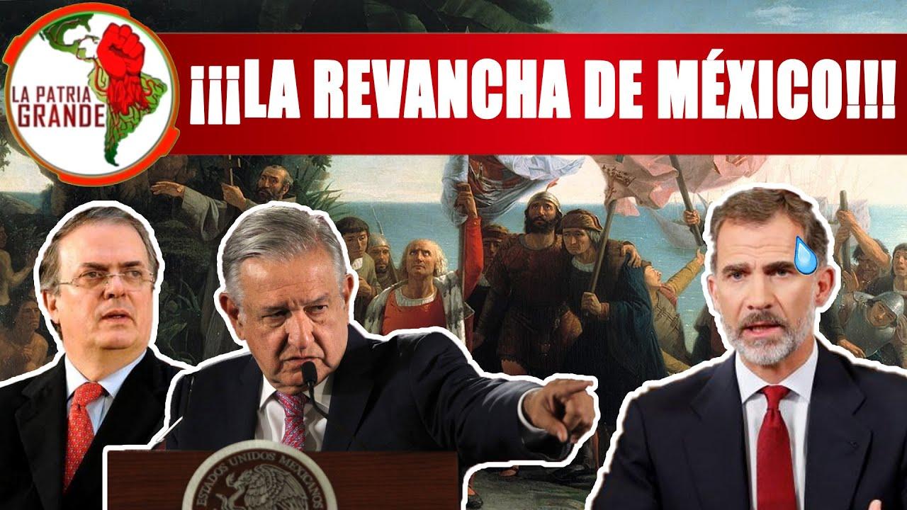 ¡Se prende el Cerro! Tensión entre México y España Sale deControl; AMLO preparaEMBARGO Internacional