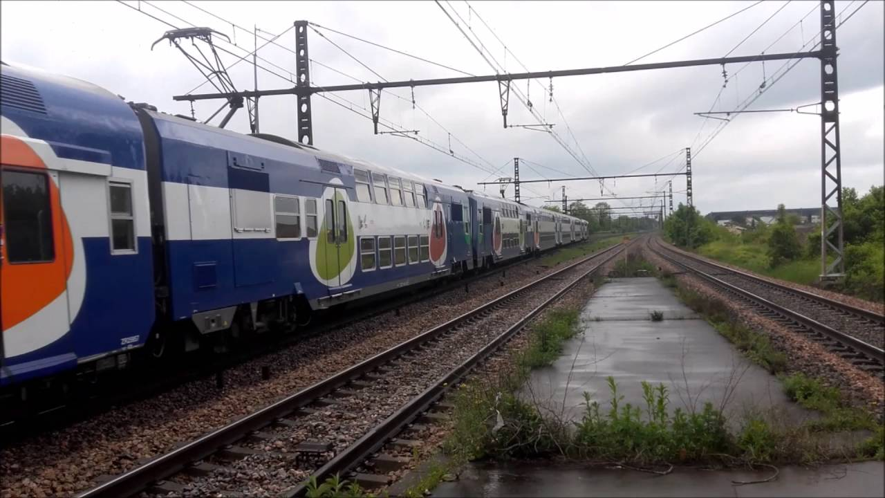 En gare de cesson 77 youtube - Transilien prochain train ...