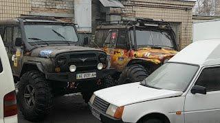 Пришли запчасти для УАЗа на БТРовских
