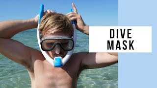 Ameo Powerbreather Wave Edition With A Dive Mask At Navutu Stars Yasawa Islands Resort Fiji