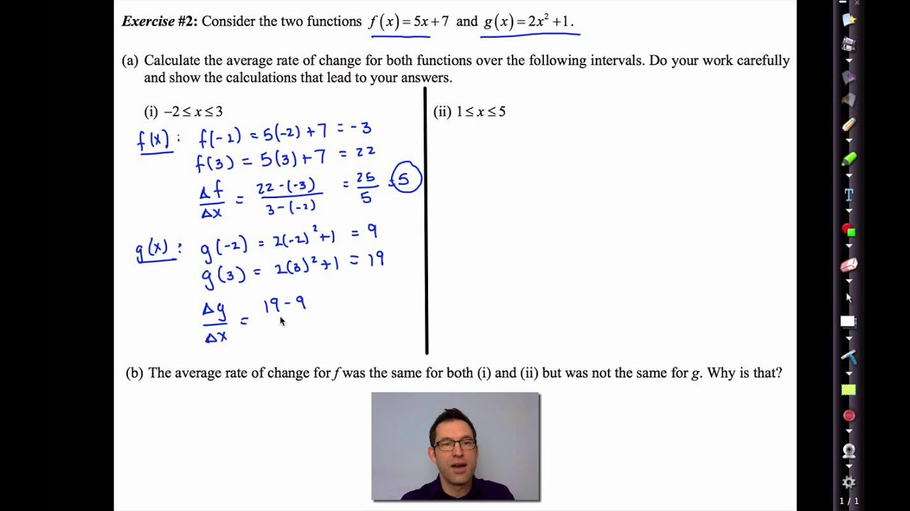 Common Core Algebra II.Unit 3.Lesson 2.The Average Rate of Change ...