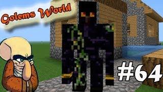 Обзор Мода Minecraft! Много Големов-Носарей! (Golems World)№64