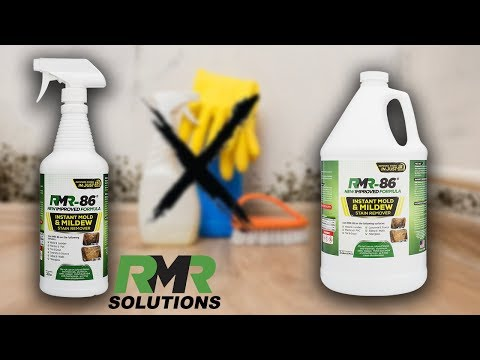 Mold Stain Remover - Mildew - Mold Stain Remover