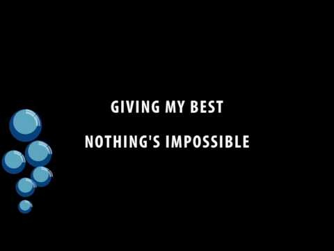 Giving My Best - Nothing's Impossible