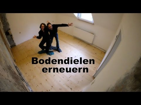 Holzfußboden Erneuern ~ Bodendielen erneuern youtube