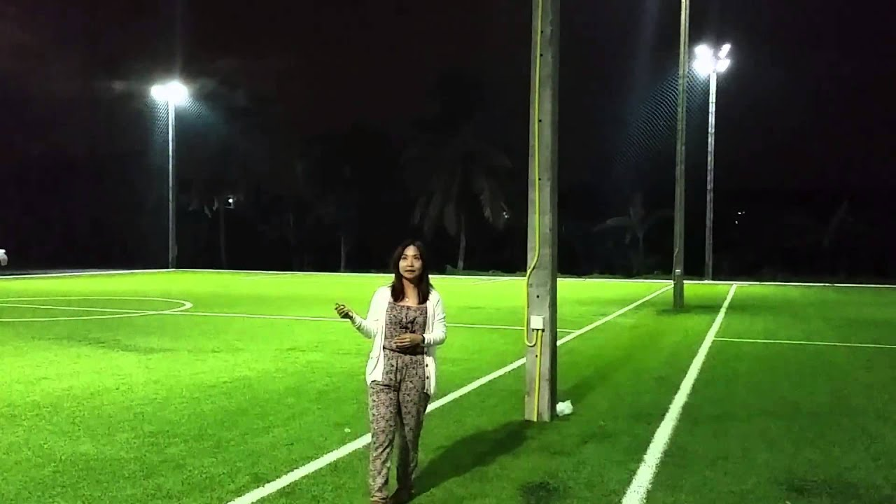 Futsal field lighting demo youtube mozeypictures Image collections