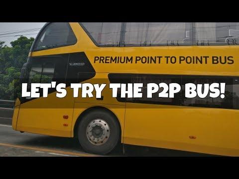 P2P Premium Bus Service in Manila