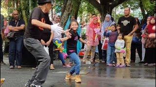 JARAN GOYAN-Nurul feat Redeem buskers cover Vita Alvia,goyang asyik