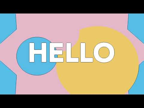 Sweet California - Hey Hola Hello (Lyric Video)