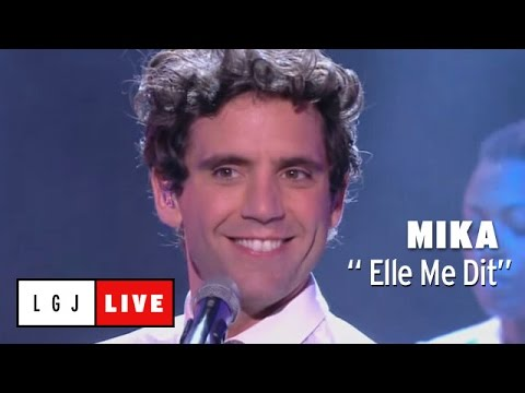 Mika -  Elle Me Dit  - Live Du Grand Journal