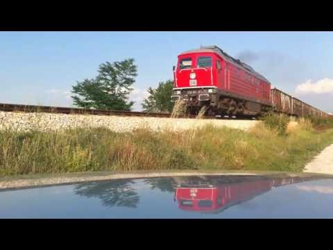 DB Schenker freight - with electric and diesel traction