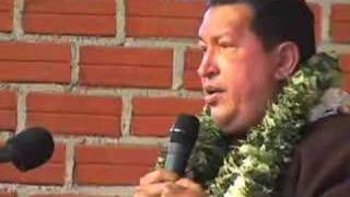 Bolivia: Visita de Chávez a El Alto