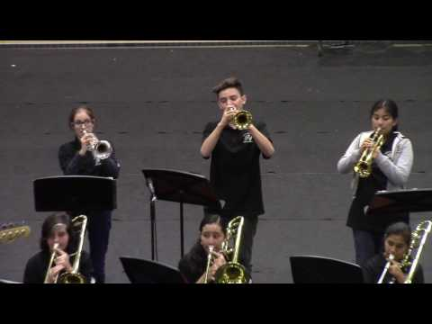Sussman Middle School Jazz Band, 6th Annual Band Spectacular.