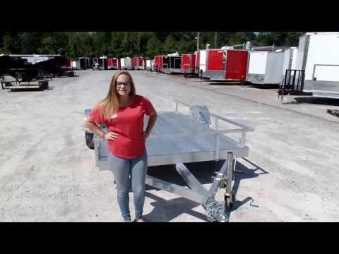6.4x12 All Aluminum Utility Trailer 3500 lb Axle Review
