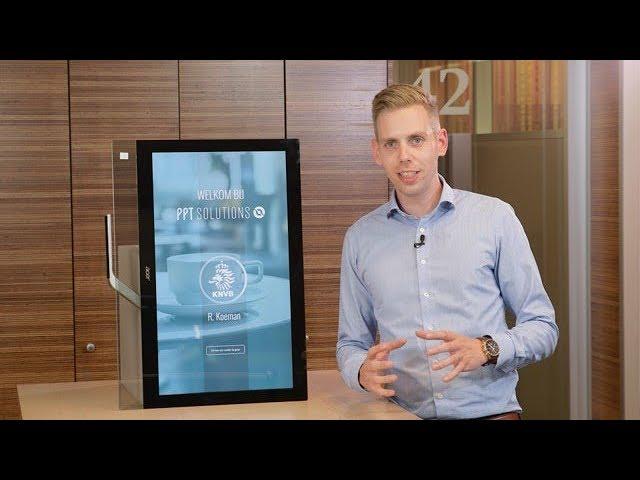 Welkomstscherm met behulp van PowerPoint - Narrowcasting | PPT Solutions