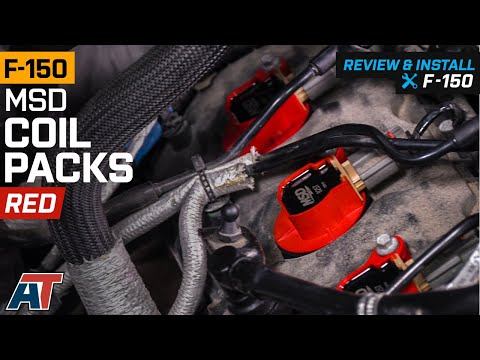 2011-2014-f150-3.5l-ecoboost-msd-coil-packs---red-review-&-install