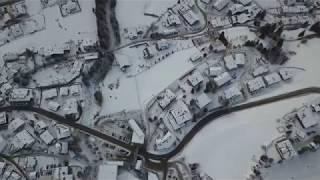DOLOMITES - San Viglio di Marebbe e Plan de Corones - Kronplatz dal Drone.