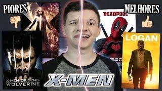 PIORES e MELHORES Filmes dos X-MEN - Especial FÊNIX NEGRA
