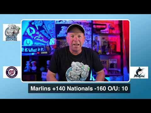 Miami Marlins vs Washington Nationals Free Pick 8/23/20 MLB Pick and Prediction MLB Tips