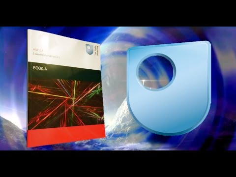 Open University Degree Blog #3, MST 124, Essential Mathematics 1 Unboxing and Update :o)