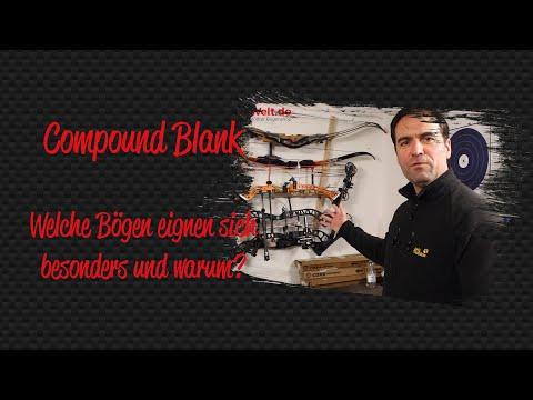 Compound Blank - Welche Bögen eignen sich dafür und warum?