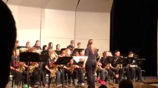 Bad Romance-CRMS Jazz Band -2/19/15