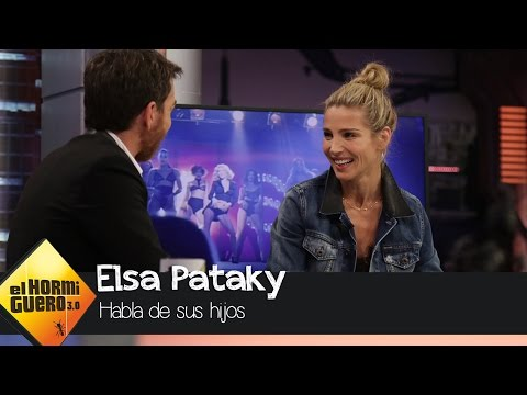 """Elsa Pataky: """"Mis hijos son como termitas, donde van lo destrozan todo"""" - El Hormiguero 3.0"""