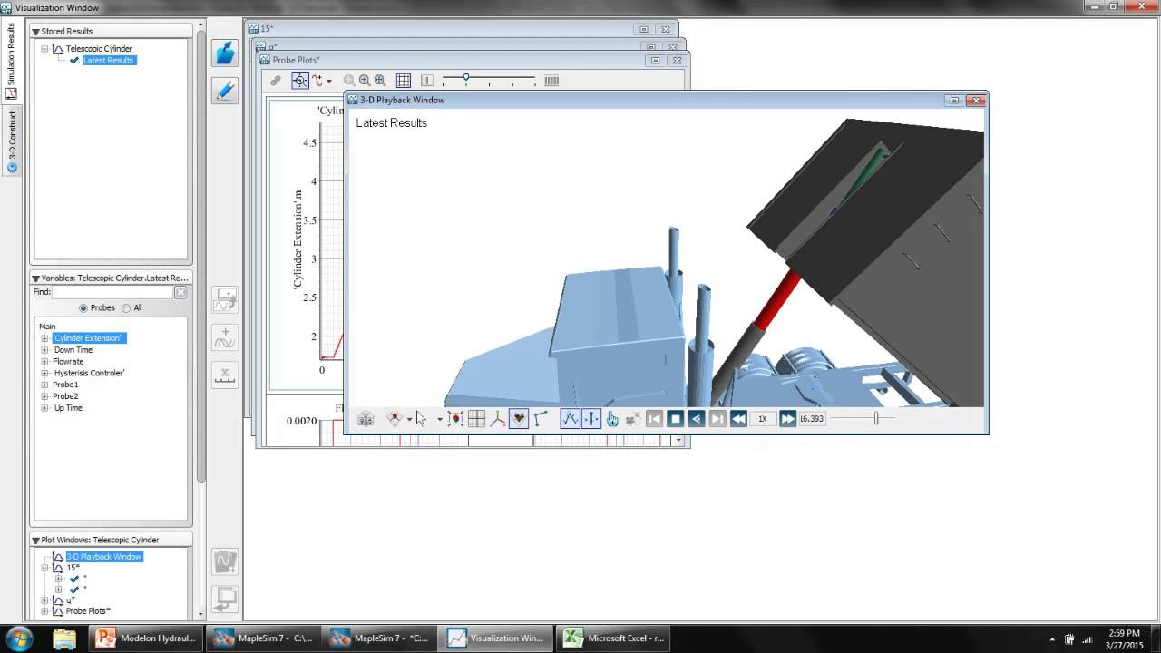 MapleSim Hydraulics Library from Modelon - Simulate and