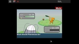 ROBLOX - Project Pokemon - Catching Pumpkin Aura Mew