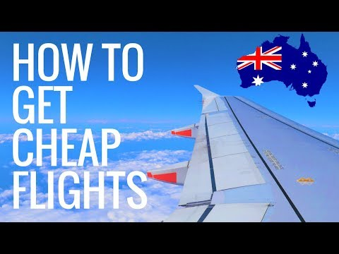 The CHEAPEST FLIGHTS In Australia! Price Beat Guarantee