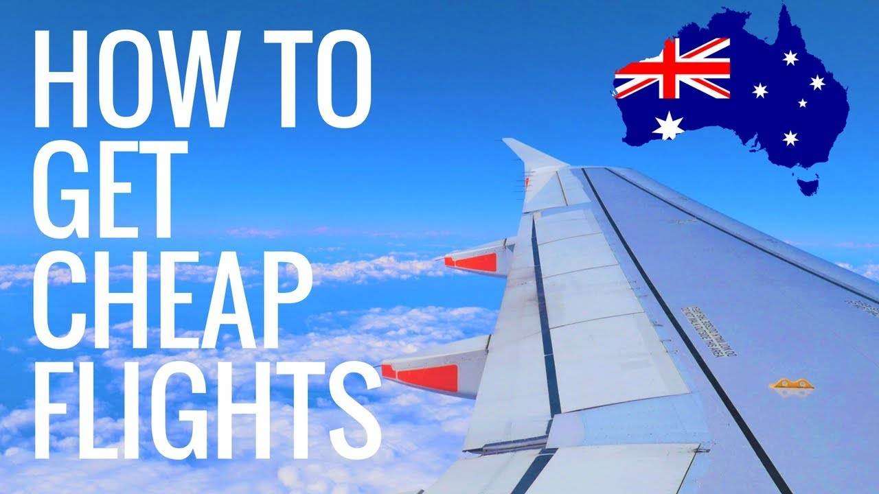 how to get cheapest flights to australia