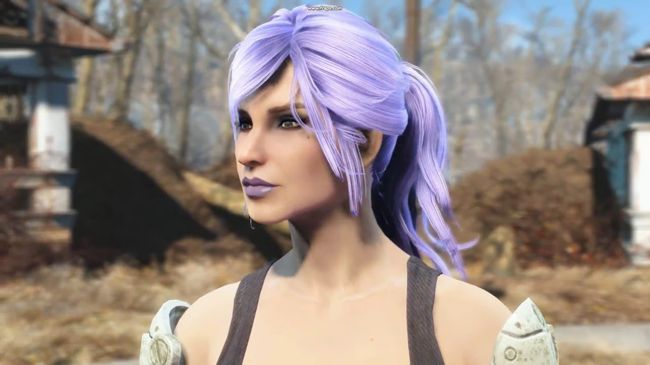 Misc Hairstyles With Physics Fallout 4 Youtube