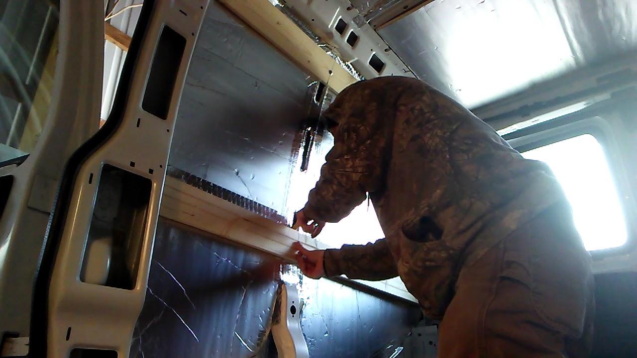 Van build- How I installed furring strips in my van