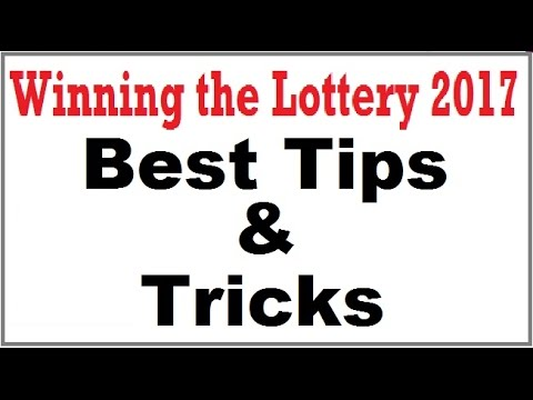 Winning the Lottery 2017 - Pick 3 Best Tips and Tricks