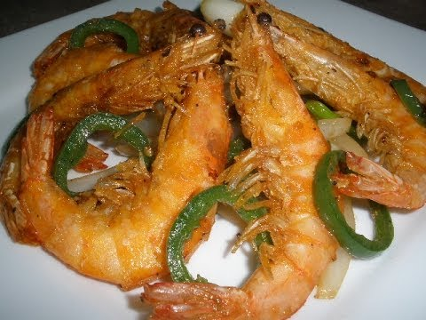 Salt Pepper Shrimp - YouTube