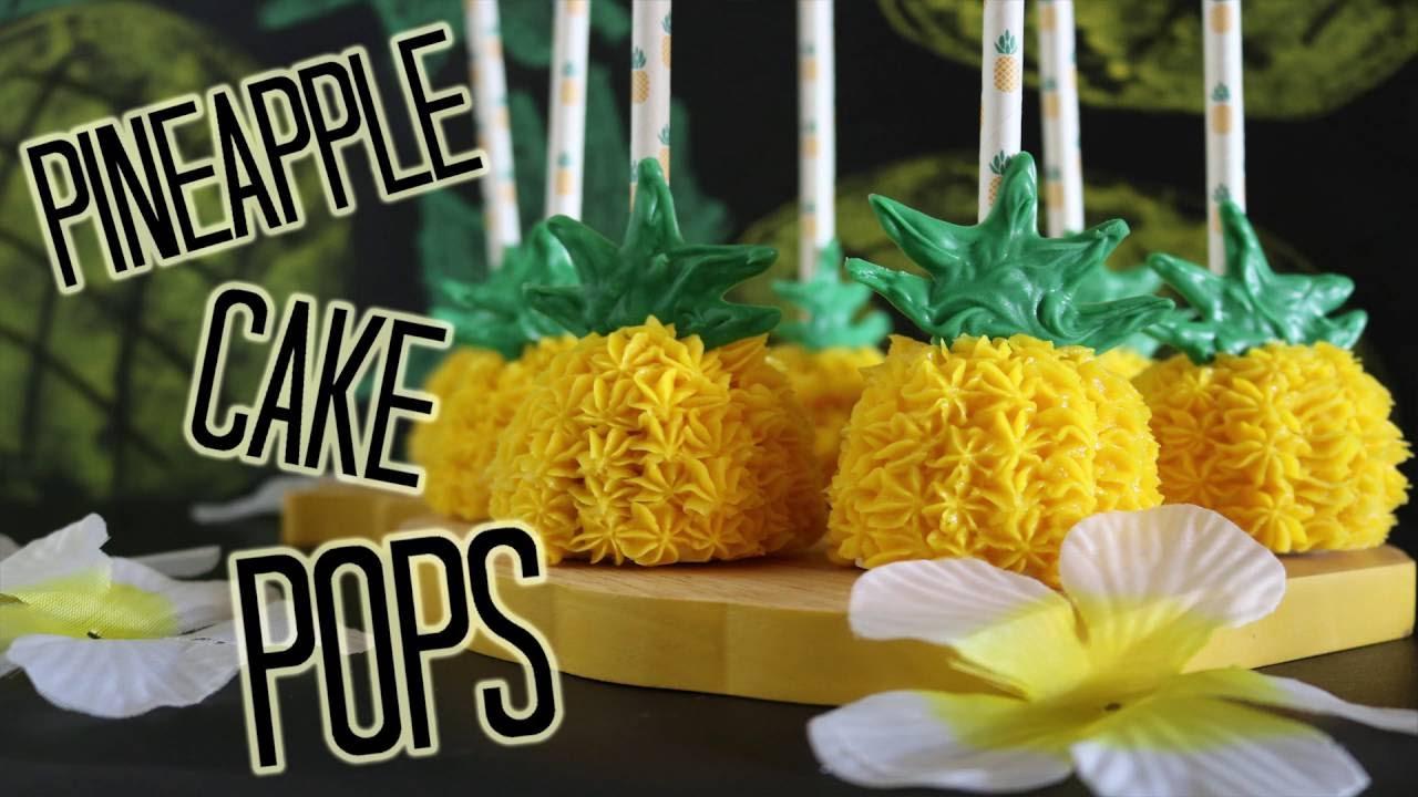 Make A Pineapple Shaped Cake
